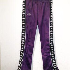 Purple Kappa Pants Womens Medium Like New